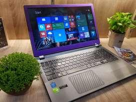 Laptop acer v5-573PG Vga Nvidia 4GB Gaming dan Multimedia