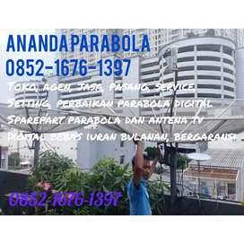 Service, perbaikan parabola dan antena tv digital bebas iuran bulanan