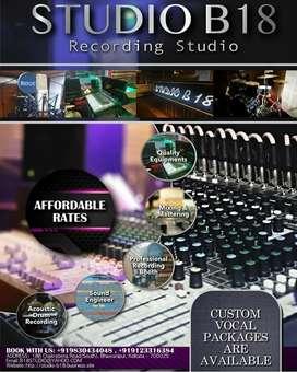 MUSIC RECORDING STUDIO - STUDIO B18
