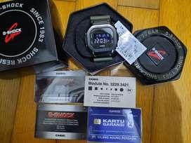 G-shock GM-5600B-3DR original fullset like new