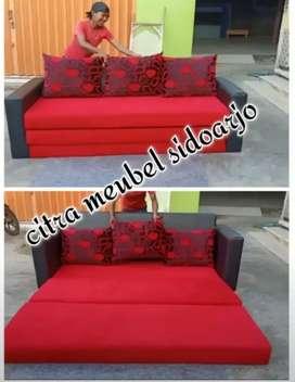 Sofa tamu lipatan bisa buat tidur