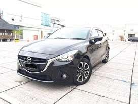 Mazda 2 Hitam 2016 R Matic Sangat Terawat