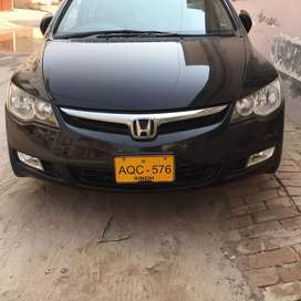 Civic first owner almost janioun