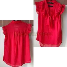 PRELOVED - Baju kutung Merah