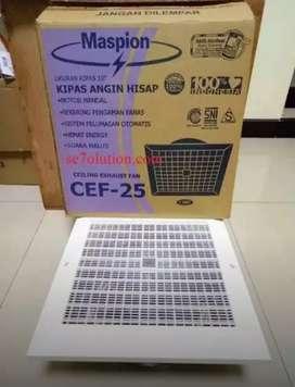 CEF25 Maspion Exhaust Fan Plafon Ceiling Kipas angin Hisap Baru Bs COD