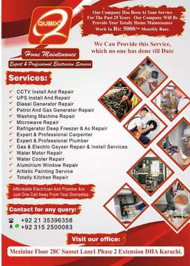 Electrician and plumber available 24/7