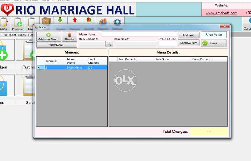 Marriage Hall, Banquet Hall Event Managing Software 0