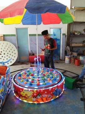 pancingan elektrik ikan magnet odong kereta wahana mainan MURAH 11