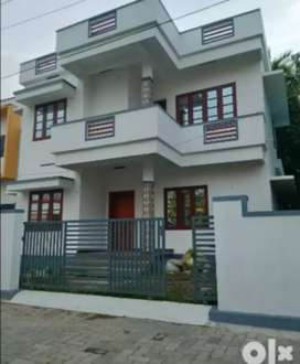 Ready to occupy 3 bhk 1500 sqft house at Kongorpilly near chirayam