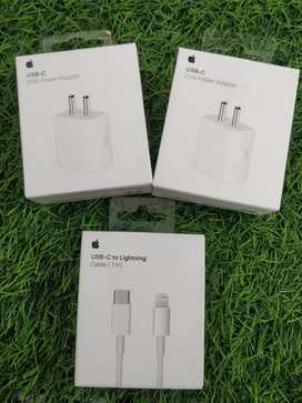 iPhone original 18 watts charger with type c cable brand new box