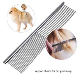 STEEL COMB FOR DOG AND CAT II ANTI-STATIC HAIR SHEDDING COMB