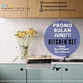 Kitchen set Promo Bulan Juni