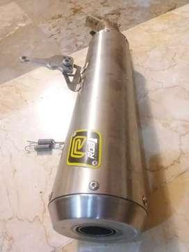 ROB1 Racing Exhaust (silincer only) for R25, CBR250RR, NINJA 250