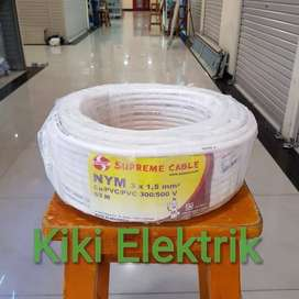 Kabel Listrik Supreme NYM 3x1,5 panjang 50 meter