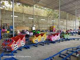 odong odong kereta mini coaster wisata fiber komedi  robocar poli EK