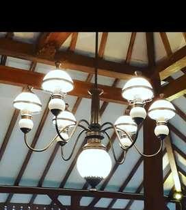 Produksi Lampu Gantung Antik Klasik Kuningan