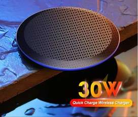 30W Qi Wireless Fast Charger for iPhone & Android Qi Enabled Devices