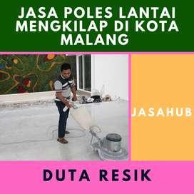 Jasa Poles Lantai Mengkilap di Kota Malang