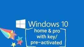 Windows 7/8/8.1/10 pro and MS Office 2007/10/13/16