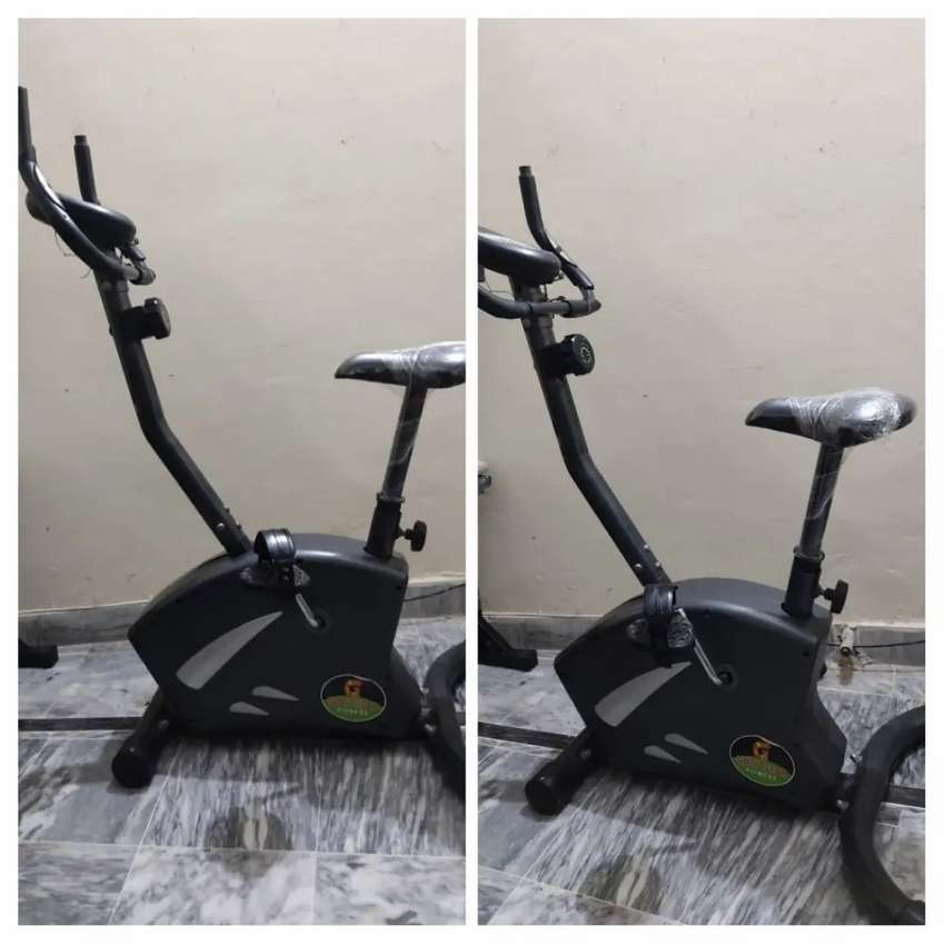 Magnetic cardio cycle exercise cycle air bike cycling machine
