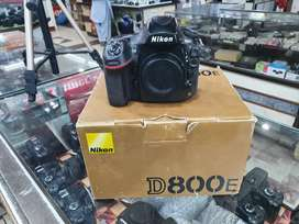 Nikon D800E FULL FRAME BODY condition 10/10 with 1 year warranty