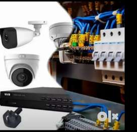 All types of electrical cctv camera installation and home automation