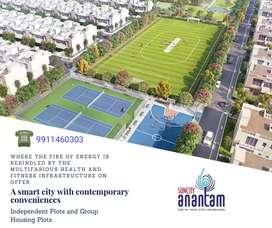 Plot/Villa on 100 feet wide road in suncity ANANTAM. hi tech city