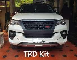 Fortuner t3 trd body kit / skirting