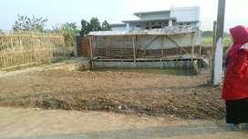 Di Jual tanah mateng di kawasan Bojongsari kec .bojongsoang