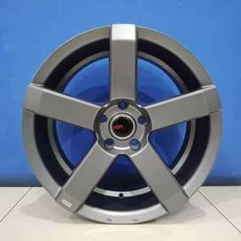 Cicil Velg Mobil HRV CX5 Hilux DP 10% Ring 20 HSR STEVE H5X114,3 SMG