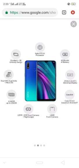 Realme 3  4gb 64 gb gud working mobile