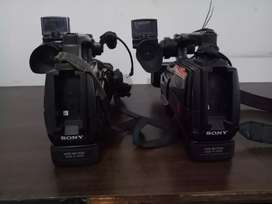 Camera sony HXR 1500 MC (card) include batterai