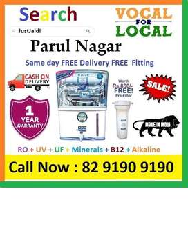 Parul Nagar AquaGrand RO + UV+UF+Minerals+ B12+ Vitamins 12L  Book Now