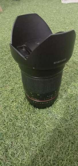 Samyang 24mm f1.4 for canon manual