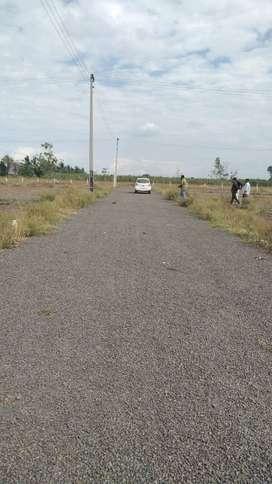 Best investment, road touch plots for sale at Darekarwadi, sanaswadi