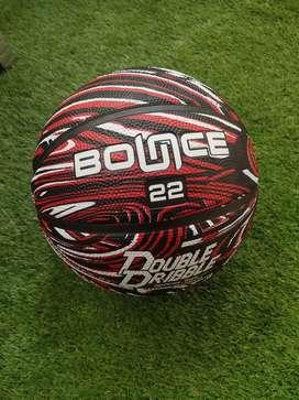 Bola Basket Bounce 22 Merah Motif