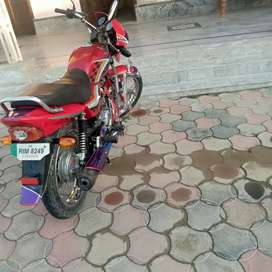 model 2010 colour red cg 125