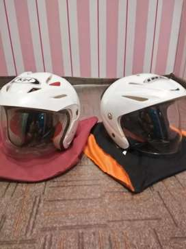 Dijual keduanya helm INK dan KYT size M