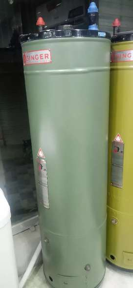 Singer Water heater available on easy instalment and cash.