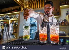 Barman required