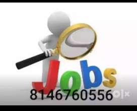 We have a need of male or female candidates