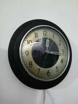 Jam listrik siemens tua kuno unik antik vintage junghans mauthe
