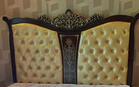King and Queen size bed