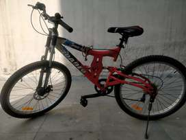 6 gear , shock observer bicycle