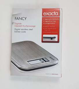 Exacta brended stainless steel digital kitchen scale