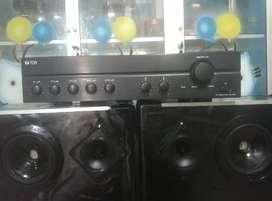 "Sound system plus speaker 12"""
