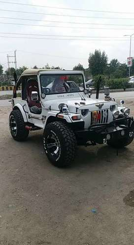 Willys jeep cj3a