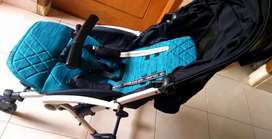 Stroller Cocolate CLX 199 Otto X Rmd Knit Blue