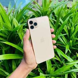 IPhone 11 Pro Max 64Gb Gold Fullset Istimewa Mulusss