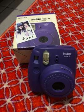 Dijual Fujifilm Instax Mini 8 Grape